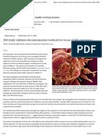 nCoV - Maske - 2020-10-25 - NIH study validates decontamination methods for re-use of N95 respirators | National Institutes of Health (NIH)