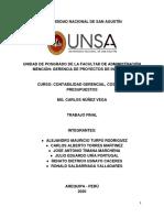 Análisis Financiero de Yura s.a.,