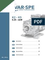 AO Dosing Variable Speed Manual Instruction
