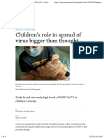 nCoV - Med - 2020-08-22 - Pediatrics - Looking at children as the silent spreaders of SARS-CoV-2 – Harvard Gazette