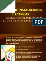 CURSO DE INSTALACIONES ELECTRICAS EXP