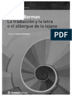 Analitica de la traducción (Antoine Berman) copia