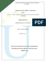 UNIDAD 2 - TAREA 3 - DIFERENCIAR EL ROL DEL PSICÓLOGO EN DIVERSOS CONTEXTOS .ANDRES DIAZ