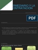 EL INTERMEDIARIO Y LA SUBCONTRATACIÓN