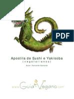 Apostila Sushi e Yakisoba (Vegetarianos) - Fernando Cascado