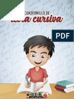 Cuadernillo de letra cursiva