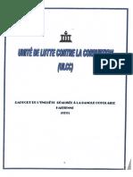 l'Unité de Lutte Contre Ia Corruption (ULCC).Rapport Banque Populaire Haltienne (BPH)