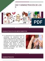 Responsabilidad y Administración de Los Medicamentos