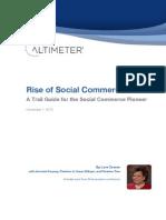 Altimeter Rise of Social Commerce