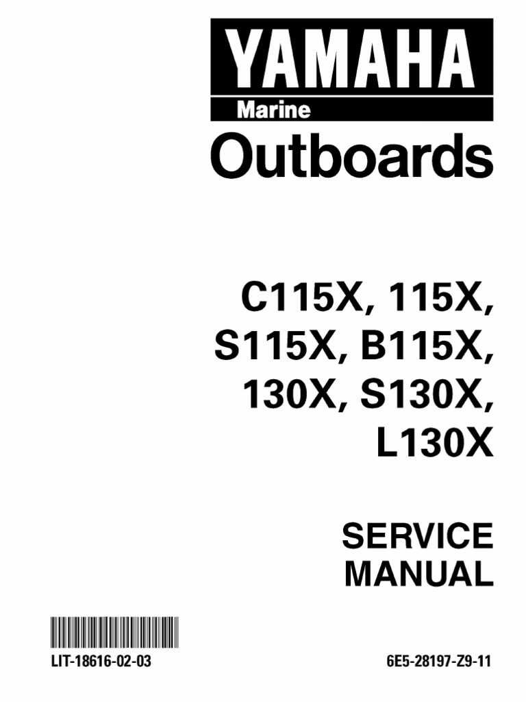 Yamaha c115 Outboard Service Manual