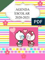 Agenda 2020-2021- Editable