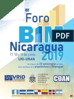Documento Memoria Primer Foro BIM Nicaragua 2019