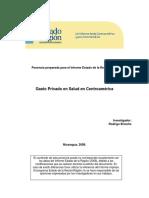 693. Gasto Privado en Salud en Centroamérica