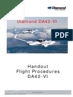DA42-VI Flight Procedures