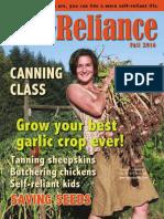 Self-Reliance magazine Fall 2016