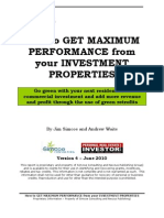 Green Real Estate Investment Study