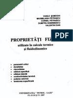 Proprietati Fizice Utilizate in Calcule Termice Si Fluidodinamice