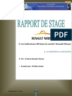 Rapport de Stage Renault Nissan