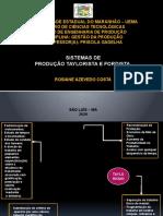 Infográfico - Taylorismo e Fordismo