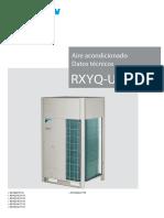 RXYQ-U EEDES19 Data Books Spanish