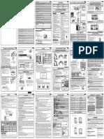 Sensira FTXC-C RXC-C 3P621327-1B Installation Manual Spanish