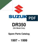 Spare Parts Catalog Dr350 1997-1999