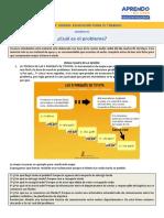 EPT- CUAL ES EL PROBLEMA? -  SEMANA 05
