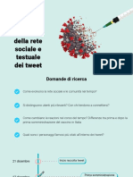 Presentazione - Social Media Analytics