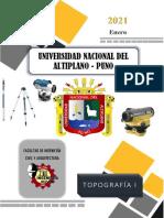 Informe N° 07 - Perfil longitudinal y secciones transversales