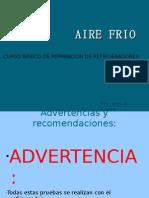 CURSO DE REPARACION DE REFRIGERADORES -AIRE FRIO
