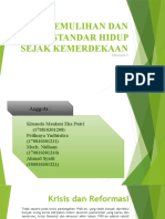 Presentasi PEREKONOMIAN INDONESIA K09