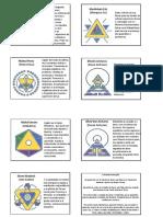 Símbolos Nível 2 - Arcturianos