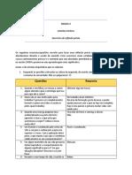 Ficha Exercícios - Disparadores de Conversa Módulo