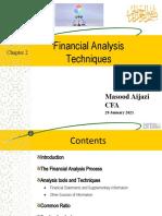 Ch 2 Financial Analysis Technoques Presentation (1)