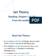 Lecture 1-Set Theory