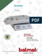 Balmak Manual do usuário - ELP-25BB