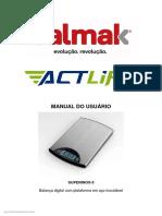 Balmak Manual do usuário - Actlife - SUPERINOX-5