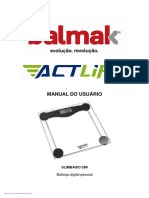 Balmak Manual do usuário - Actlife - SLIMBASIC-200