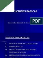 Instituciones Basicas