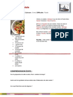 Une Recette de Cuisine Activites Ludiques Briser La Glace Comprehension e 19605