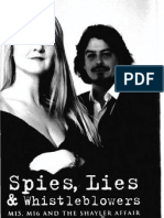 Machon, Annie. Spies, Lies and Whistle Blowers - MI5, MI6 and the Shayler Affair