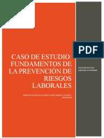 Estudio de Caso Fundamentos de la prevención RL
