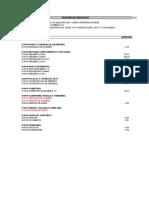 Metrado Acabados - Arquitectura - Planta Fatimar