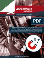 Certificacion END Particulas Magneticas
