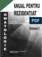 MANUAL PENTRU REZIDENȚIAT – STOMATOLOGIE , Volumul I 2021
