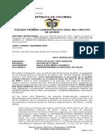 Juez levanta suspensión provisional de toma de posesión y cierre de Barrios Unidos