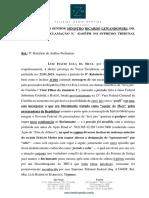 Petição e relatório da defesa de Lula ao STF