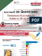 Tendencias para la gubernatura de Querétaro