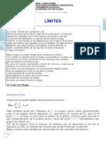 GUIA DE LIMITES (UGC) (CURSO INTERSEMESTRAL DE CALCULO I) (CARLOS GOMEZ)