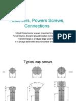 Presentation CH8 - Fasteners, Screws